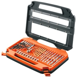 Black and Decker - set 35 de pise pentru gaurit si insurubat - A7152