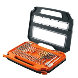 Black and Decker - ro 75 Piece Drill and screwdriving set - A7153