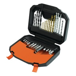 Black and Decker - Set de 30 accesorii de insurubat si gaurit - A7183