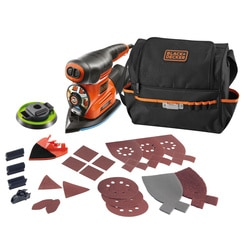 Black and Decker - ro 220W 4in1 multisander with 21 accessories and robust storage softbag - KA280LSA