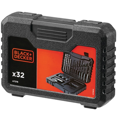 Black and Decker - ro Drilling  Screwdriving Set - A7216