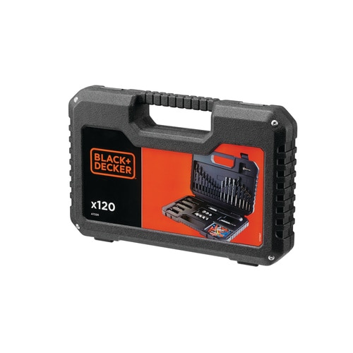Black and Decker - Set de 120 biti de insurubare si gaurire - A7220