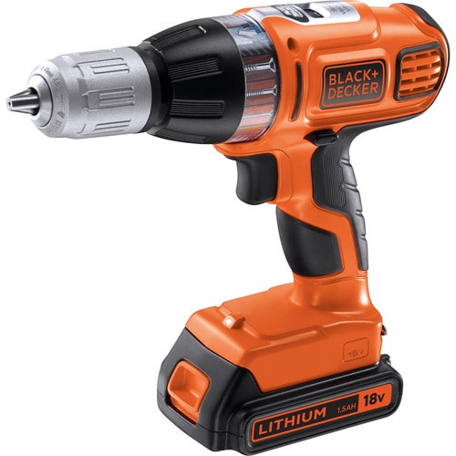Black and Decker - Masina de insurubatgaurit cu percutie Autoselect de 18V - ASL188KB