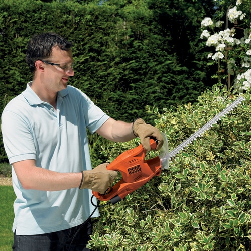 Black and Decker - Foarfeca gard viu 420W lama 45cm - GT4245