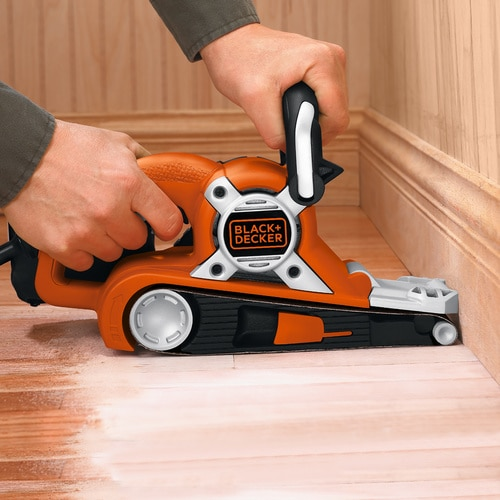 Black and Decker - Slefuitor cu banda de 75 x 533mm de 720W - KA88