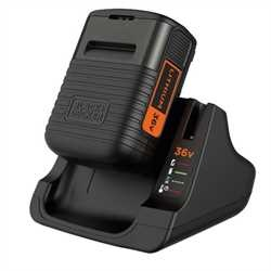 Black and Decker - ro 36V 20Ah Lithium Ion Battery  Charger - BDC2A36