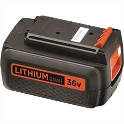 Black and Decker - ro 36V 20Ah Lithium Ion Battery - BL2036