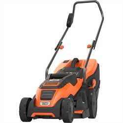 Black and Decker - 1400W 34cm Electric Lawnmower - EMAX34S