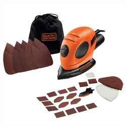 Black And Decker - Mouse Detail Sander  15 Accs - KA161BC