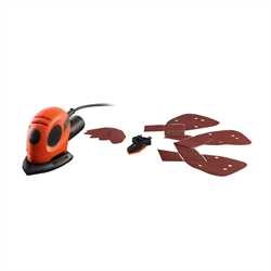 Black And Decker - Mouse Detail Sander   9 Accs - KA161