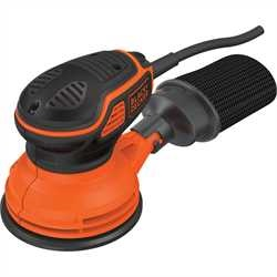 Black And Decker - ro 260W Paddle Switch Random Orbit Sander - KA199