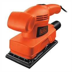 Black And Decker - Slefuitor cu foaie abraziva de 13 92X230 mm de 135W - KA300