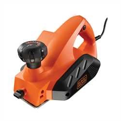 Black and Decker - Masina de rindeluit de 650W - KW712
