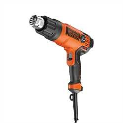Black and Decker - Pistol cu aer cald si 8 accessorii de 2000W - KX2200K
