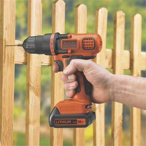 Black and Decker - ro 18V Drill Driver Naked - BDCDD18N
