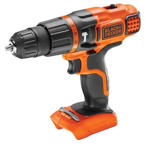 Black and Decker - ro 18V Hammer Drill Naked - BDCH188N