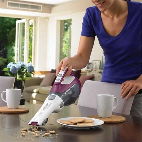 Black and Decker - ro 96V Dustbuster with Cyclonic Action - DV9610ECN