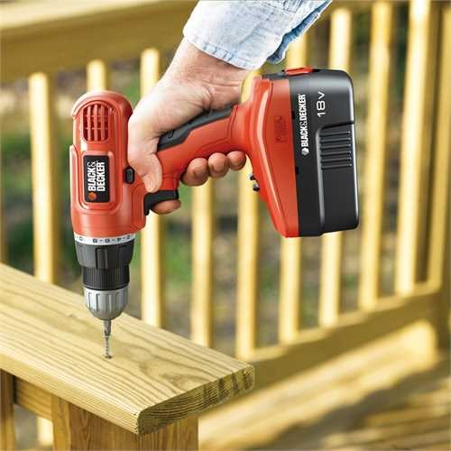 Black and Decker - Masina de gaurit si insurubat de 18V - EPC18CABK