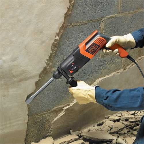 Black and Decker - Ciocan rotopercutor pneumatic 600W 16J - KD860KA