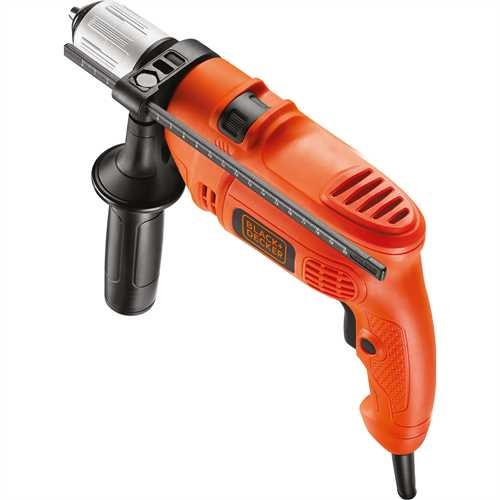 Black and Decker - Masina de gaurit cu percutie de 500W - KR504CRESK