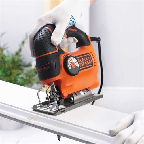 Black and Decker - Ferastrau pendular AutoSelect 620W cu valiza depozitare - KS901SEK