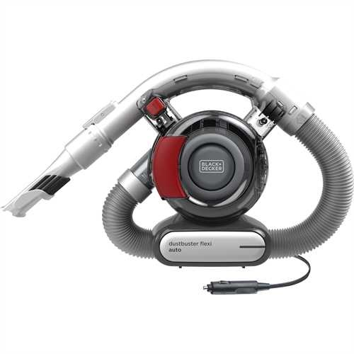 Black and Decker - Aspirator de manaDustbuster Flexi 12V DC - PD1200AV