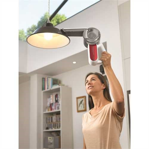 Black and Decker - ro 108V Lithiumion Dustbuster Pivot Hand Vac - PV1020LR