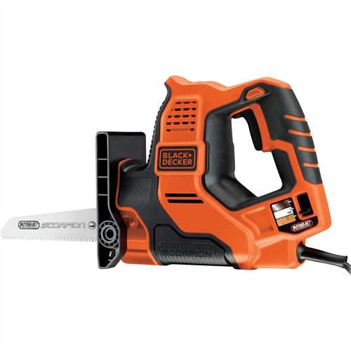 Black and Decker - Ferastrau tip sabie Scorpion Autoselect in carton - RS890