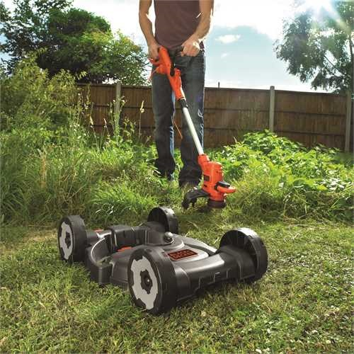 Black and Decker - ro 3IN1 550W String Trimmer  Extension Cable - ST5530CMCAK